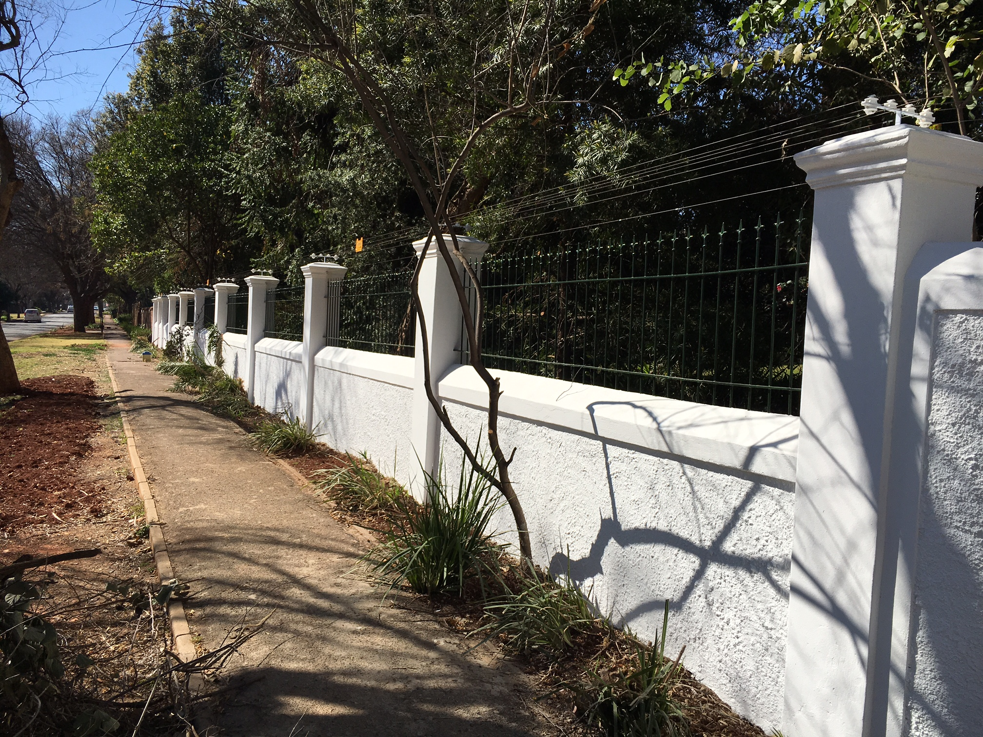 Palisade and steel fencing 022