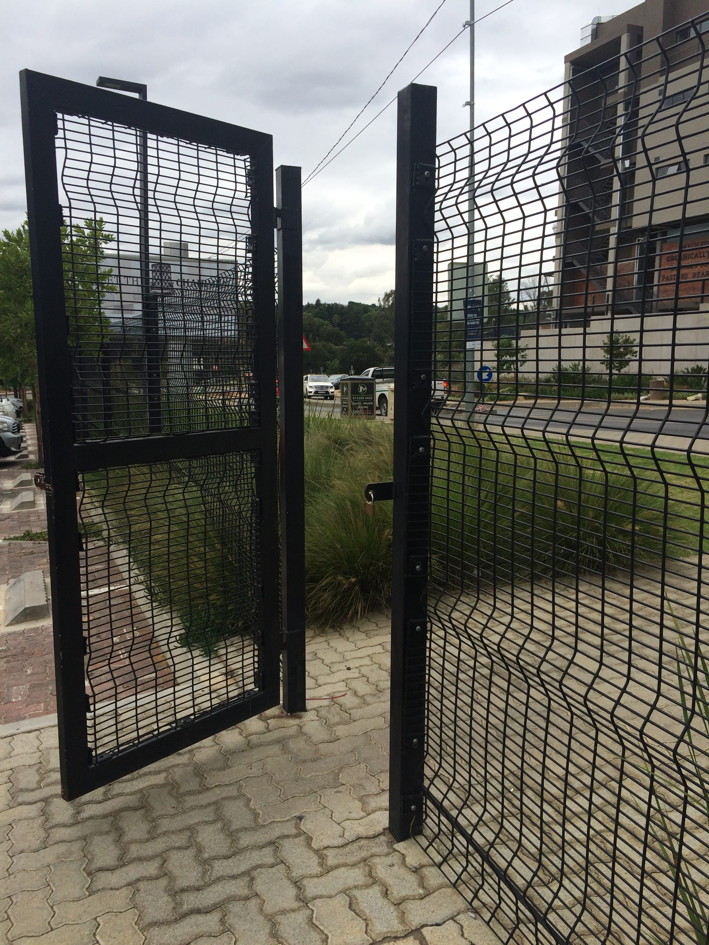 wire fence gate. De-Fence / Clear Fence - Swing Gates 001 Wire Gate E