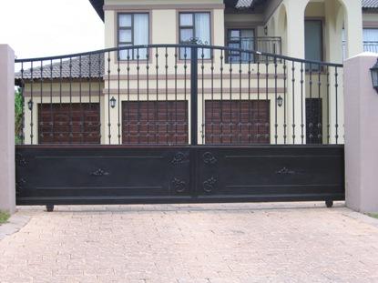 Sliding driveway gates 015
